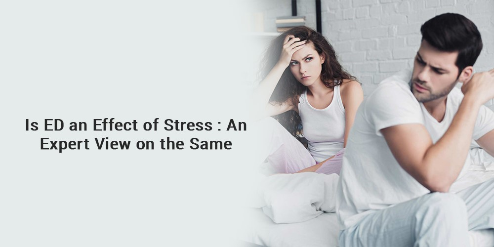 Is ED an effect of stress
